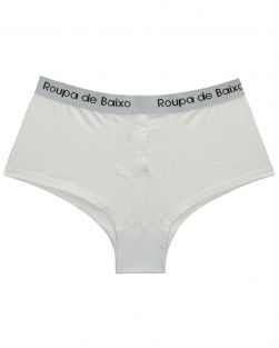 Cueca Feminina Cotton Light Branco