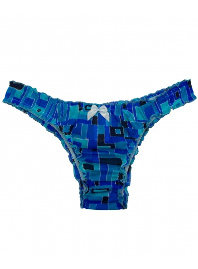 Biquíni Fru Fru Mosaico Azul