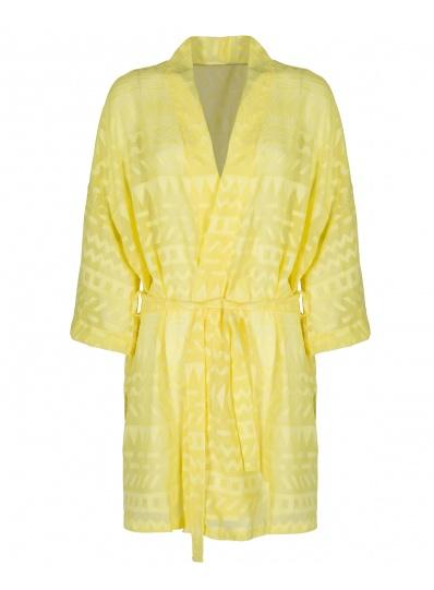 Robe Kimono Atena Amarelo