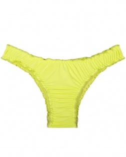 Biquíni Fru Fru Em Microfibra Amarelo Fluor