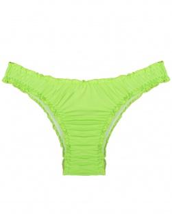 Biquíni Fru Fru Em Microfibra Verde Fluor
