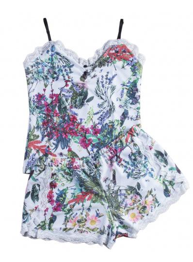 Pijama Summer Estampa Flor