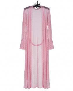 Kimono Atena Em Renda Rosa
