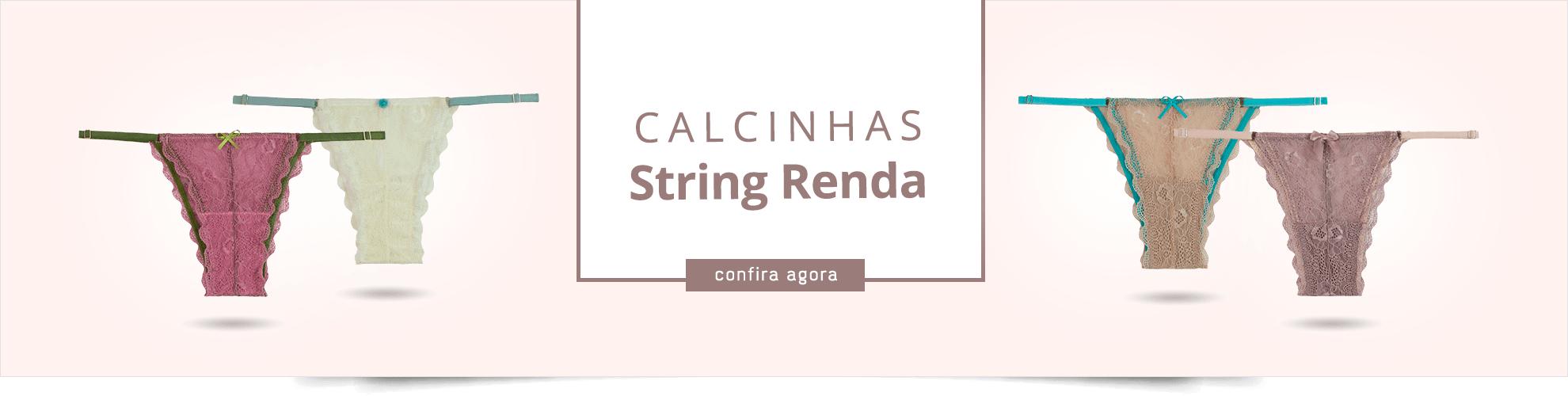 Strings Roupa de Baixo